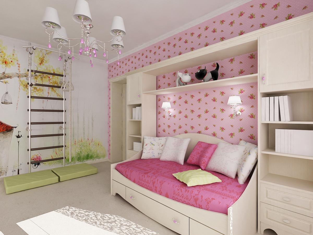 Дизайн проекты детской комнаты для девочки