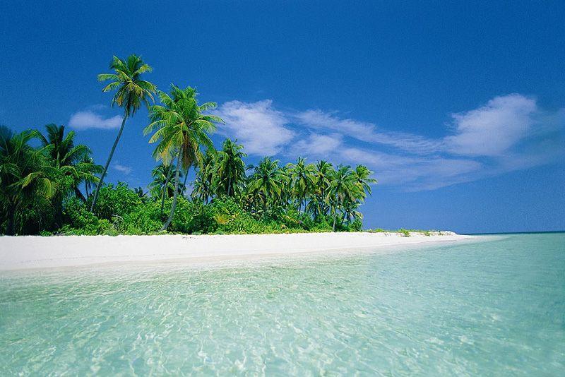 Самые красивые пляжей